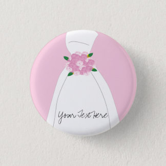 Pink Bridal Button