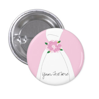 Pink Bridal Button