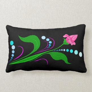 Pink Bud Lumbar Cushion