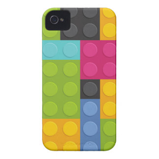 pink building blocks iPhone 4 Case-Mate case