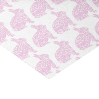 Pink Bunny Gift Wrap Tissue Paper