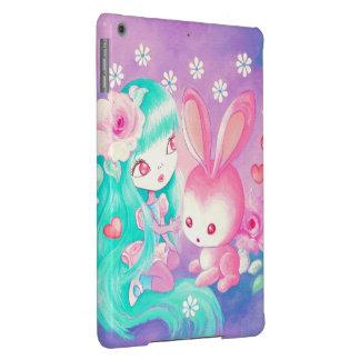 Pink Bunny Love iPad Air Case