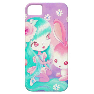 Pink Bunny Love (Detail) iPhone 5 Case