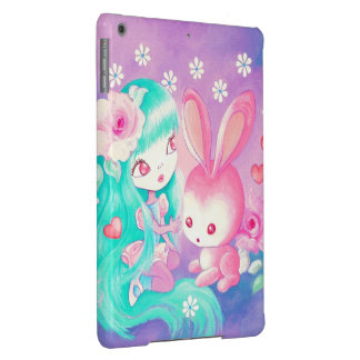 Pink Bunny Love iPad Air Cases