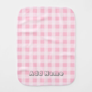 Pink Burp Cloth