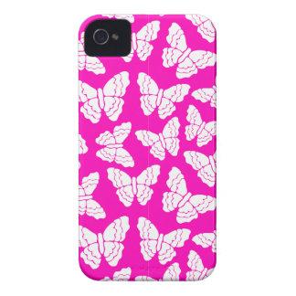 Pink butterflies BlackBerry Bold Case