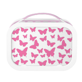 PINK BUTTERFLY-LUNCH BOX