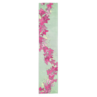 Pink Butterfly Princess Table Runner