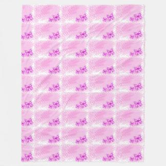 pink butterfly wings pattern customize girly angel fleece blanket