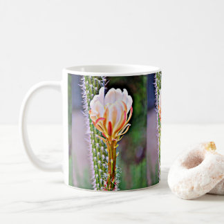 Pink Cactus Bloom Coffee Mug