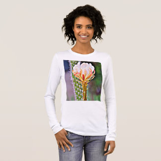 Pink Cactus Bloom Women's Tee Shirt