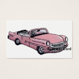 Pink Cadillac Business Card