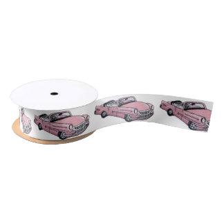 Pink Cadillac Satin Ribbon