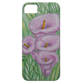 pink calla lilies iPhone 5 cover
