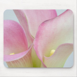 Pink Calla Lilies Mouse Pad