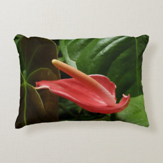 Pink Calla Lily Accent Cushion