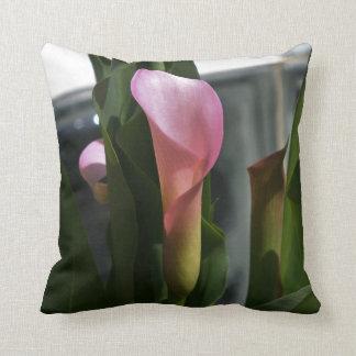 Pink Calla Lily Pillows