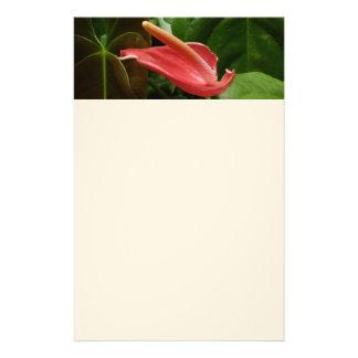 Pink Calla Lily Custom Stationery
