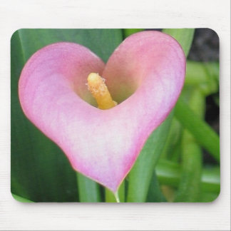 Pink Calla Lily Mouse Pad