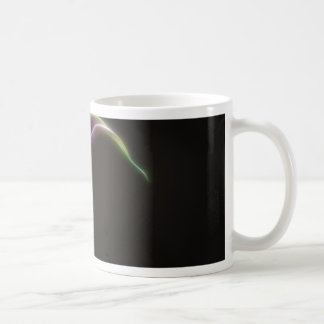 Pink calla lily mug