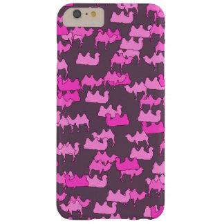 Pink Camelflage, Funny Camel Camouflage Barely There iPhone 6 Plus Case