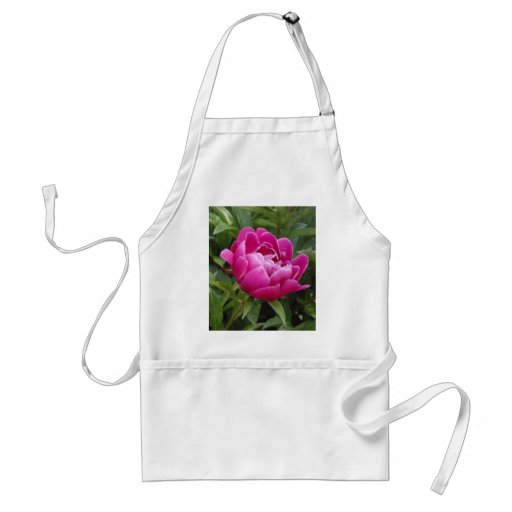 Pink Camellia Apron