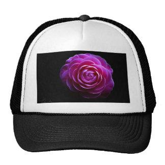 pink camellia design hats