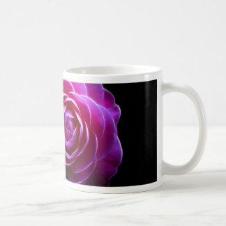 pink camellia design mugs