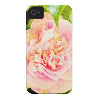 Pink Camellia Dream iPhone 4 Case
