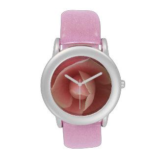 Pink Camellia Wrist Watch