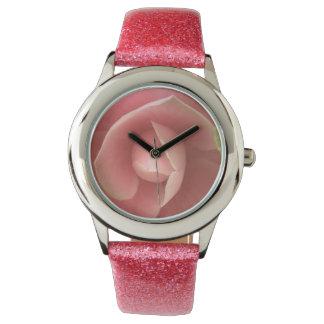 Pink Camellia Wristwatch