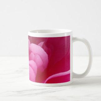 Pink Camellia Flower Close Up Coffee Mug