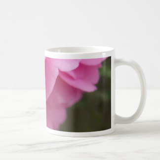 Pink Camellia Flower From Side Coffee Mug