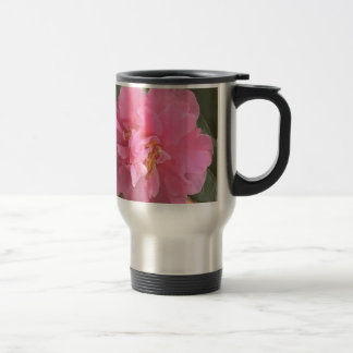Pink Camellia Mug