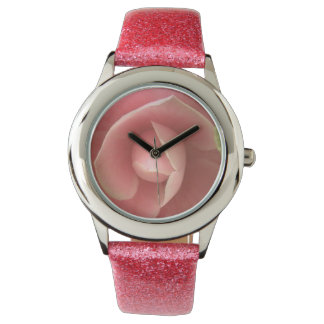 Pink Camellia Wristwatch