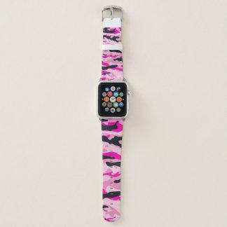 Pink Camo Apple Watch Band