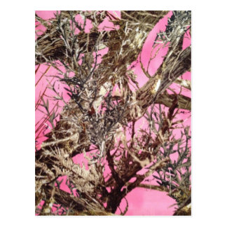 Pink Camo - Camouflage Gifts - Postcard