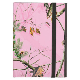 Pink Camo Camouflage Hunting Girl Real IPAD Case