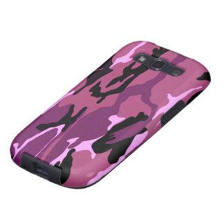 Pink Camo Galaxy SIII Cases