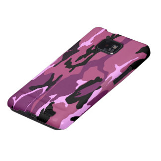 Pink Camo Galaxy S2 Case