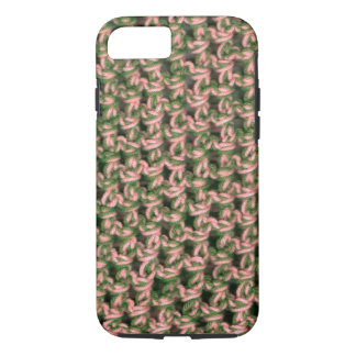 Pink Camo Crochet French Green Ladies Camouflage iPhone 8/7 Case