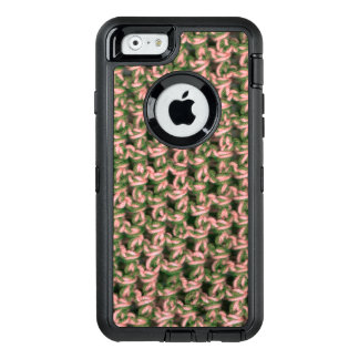 Pink Camo Crochet French Green Ladies Camouflage OtterBox Defender iPhone Case