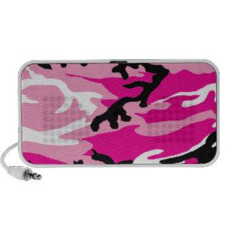 Pink Camo Doodle Speaker