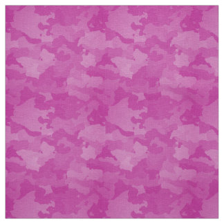 Pink Camo Fabric