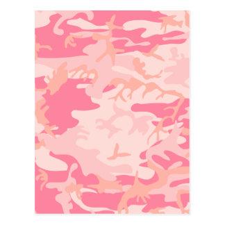 Pink Camo - Girly Camo Postcard