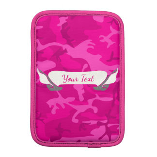 Pink Camo iPad Mini Sleeve