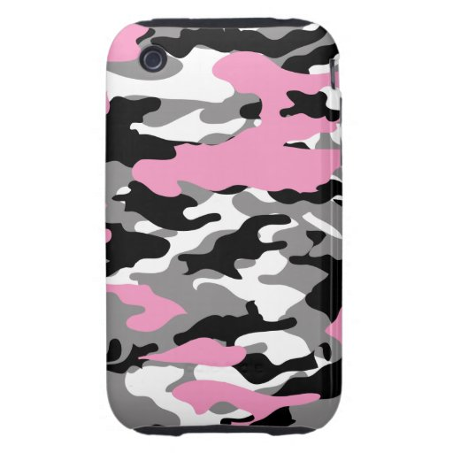 Pink Camo - iPhone 3G 3GS Case-Mate Case Tough iPhone 3 Covers