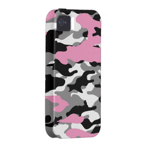Pink Camo - iPhone 4/4s Case-Mate Case