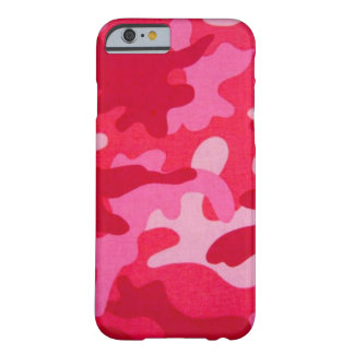 Pink Camo iPhone 6 case Barely There iPhone 6 Case