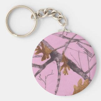 Pink Camo Key Ring